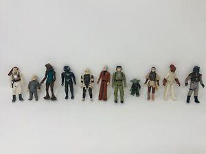Vintage Star Wars Action Figure Lot Of 11 Kenner 1978-83