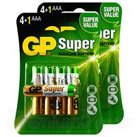10 x GP Alkaline Super AAA batteries HR03 LR03 MN2400 24A EXP:2024 Pack of 5
