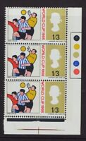 1966  World Cup 1'6 Traffic Light Error  - Red Colour Shift