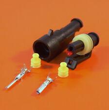 Original 1 manera AMP Superseal elec.waterproof Cableado Conector 0.5-1.5 mm wiresize