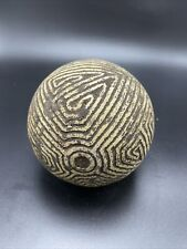 Taino Pre Columbian 4.75 inch Ceremonial Stone Batey Game Ball