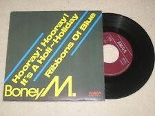 Boney M - Hooray! Hooray! It's a holi-holiday   Vinyl  Single Amiga