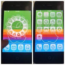 iOS 7 JAILBROKEN UNTETHERED Apple iPhone 4 8gb Black VERIZON 7.0.4 + CYDIA!!  