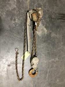 Coffing Safety Pull 3 Ton 5ft Manual Chain Hoist