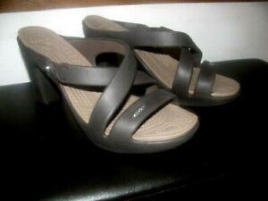 Crocs Cyprus IV High heels slip on Brown