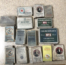 Very Old Cigarette Boxes