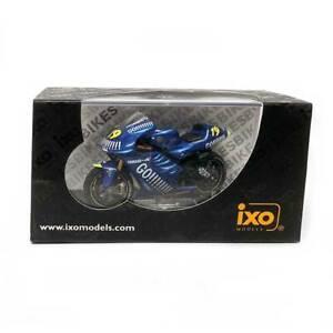 IXO Models Mini Motorcycles: Yamaha YZR-M1 #19 O. Jacques Moto GP 2003