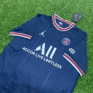 New FC Paris Saint-Germain PSG Home Jersey 2021/22 Adult Men's Football Jersey