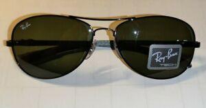 Ray Ban 8301 002 Sonnenbrille Carbon Neu original verpackt & natürlich ORIGINAL