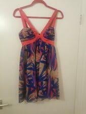 Lipsy Pink And Purple Dress Size 8