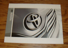 Original 2009 Toyota Car & Truck Full Line Sales Brochure 09 Land Cruiser Camry