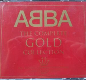 ABBA The Complete Gold Collection Australia 2000 Fat Box Remastered 2 x CD