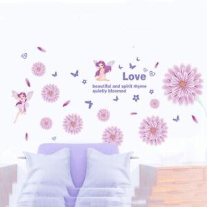 REMOVABLE FAIRY PRINCESS STAR WALL STICKER DECAL BABY KIDS CHILDREN GIRLS ROOM