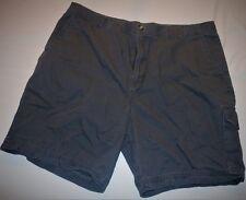 Men's Shorts Size 40 Saddlebred Dark Gray Cargo Hiking Cotton