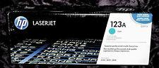 HP Q3971A 123A cyan cartouche de toner HP LJ 2550 2820 2840 HP authentique neuf scellé