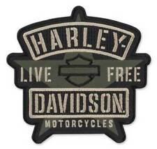 "Harley-Davidson Aufnäher, Emblem ""Resolute"" Patch *EM343942*"