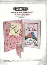 The Silver Needle Secret Needle  Night! Cross Stitch- I'm Yours You're Mine!