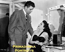 "AVA GARDNER & BURT LANCASTER 8x10 Lab Photo 1946 ""THE KILLER'S"" Movie Portrait"