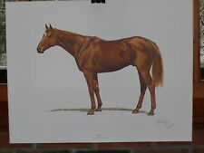 Race Horse 'AFFIRMED' Limited 197 of 1000 Edition 1978 Print By Guy Coheleach