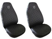 Front Seat Covers BLACK for VOLVO V50 , V70 , S40