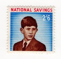 (I.B) Cinderella Collection : National Savings - Prince Charles 2/6d (1960)