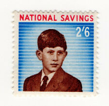 (I.B) Cinderella Collection : National Savings - Prince Charles 2/6d (1960)