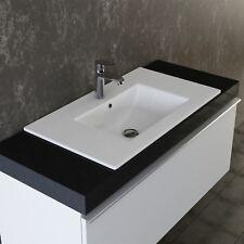 VILSTEIN Keramik Einbauwaschbecken Waschbecken Waschtisch Einsatz Becken ca.82cm