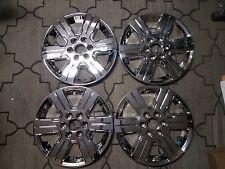 "Set of 4 New 2009 2010 11 12 13 2014 2015 Traverse 18"" Hubcaps Wheel Skins 5408"