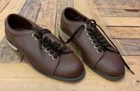 🎳DON CARTER BOWLING HIGH  QUALITY LEATHER SHOES M9311 SIZE 9.5M /11.5W