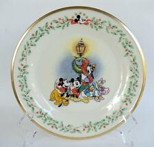 Lenox Holiday Plate ~ Featuring Mickey & Co ~ A Carolin' We Go