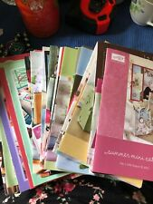 2003 To 2009 Stampin Up Mini Catalogs & Sell A Bration Catalogs Reference & Idea