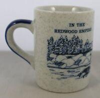 Fort Bragg Coffee Mug In the Redwood Empire on the Mendocino Coast Ceramic