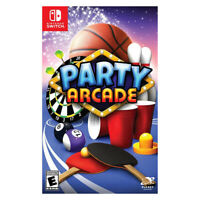 Party Arcade Nintendo Switch 2018 US English Factory Sealed