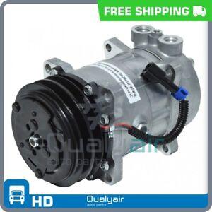 AC Compressor fits Peterbilt 330, 357, 377, 378, 379 QU