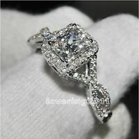 Victoria Wieck AAA Cubic Zirconia Gem 925 Sterling Silver Ring Fine Fashion NEW