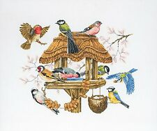 Anchor - Counted Cross Stitch Kit - Bird Table  - APC942