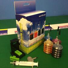 Eco-Fill INK Cartridge REFILL KIT HP Deskjet 3630 3631 3632 3633 3634 3636 HP63