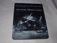 The Dark Knight Rises (2012) BLU-RAY+DVD STEELBOOK Batman Christopher Nolan DC