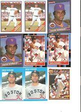 18 CARD CALVIN SCHIRALDI BASEBALL CARD LOT            23