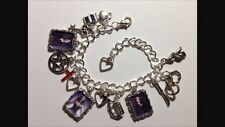 Silver Plated Charm Bracelet With Charms The Vampire Diaries The Originals