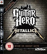 Guitar hero metallica PS3 * inc guitar hero poster *