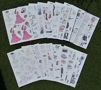 A4 Die Cut 3D Decoupage Sheets 051-116S