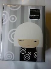 Black White Kimmidoll Kimmijunior boit Jewellery Box BN RARE