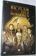 WWE - Ric Flair and the Four Horsemen DVD 2007 2-Disc Set FREE SHIPPING U.S.A.