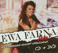 Ewa Farna - Live (CD + DVD)  2011 NEW