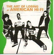 (AF279) American Hi-Fi, The Art of Losing - DJ CD