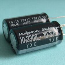 Rubycon 10v 3300uF YXC Motherboard Capacitor x 4PCS Japan New Free Ship 100%Work
