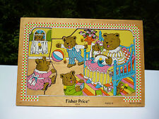 👿  Puzzle En Bois Fisher Price