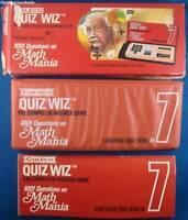 COLECO QUIZ WIZ HANDHELD GAME CARTRIDGE 7 EINSTEIN MATH CART FOR THE SYSTEM TOY