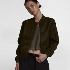 NikeLab Essentials Bomber Women's Jacket MA-1-Style Bomber Carrier Strap  S